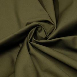 Tissu denim chino kaki x 10cm
