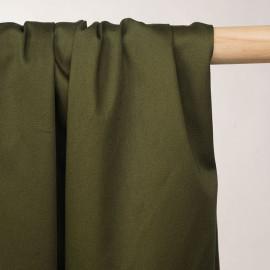 Tissu denim chino kaki - pretty mercerie - mercerie en ligne