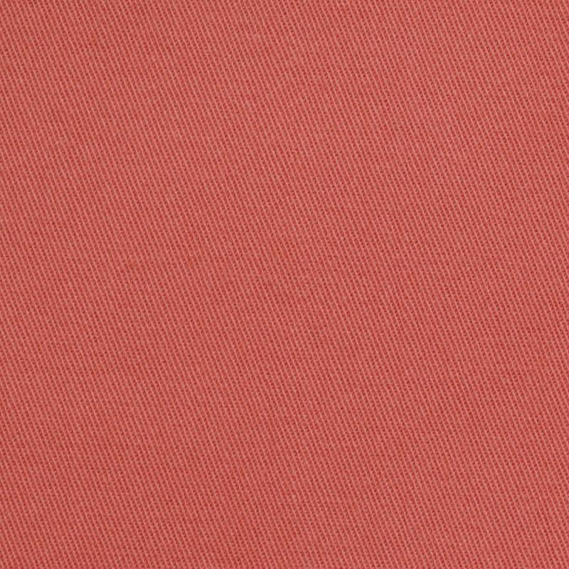 Tissu denim chino corail épicé - pretty mercerie - mercerie en ligne
