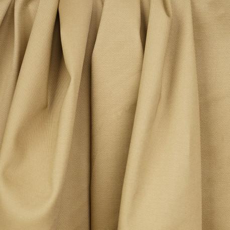 Tissu denim chino beige - pretty mercerie - mercerie en ligne