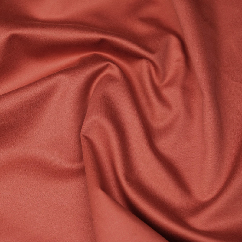 Tissu coton paprika  - pretty mercerie - mercerie en ligne
