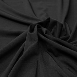 tissu doublure maillot de bain noir x 10 cm