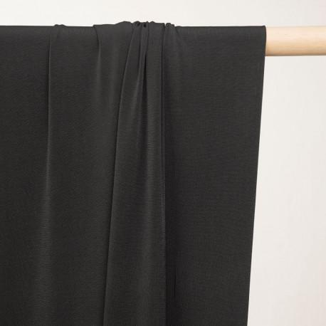 tissu doublure maillot de bain noir - mercerie en ligne - pretty mercerie