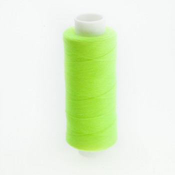 FIL POLYESTER JAUNE FLUO