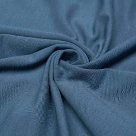 Tissu polo maille piquée airy blue x 10cm