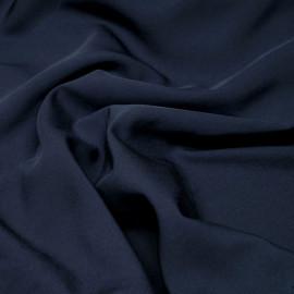Tissu proviscose bleu nuit x 10 cm