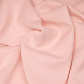 Tissu maille effet Néoprène rose blush X 10 CM