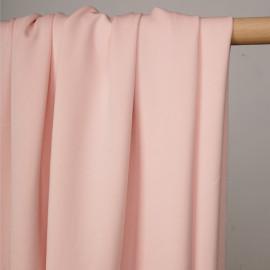 Tissu maille effet Néoprène rose blush - pretty mercerie - mercerie en ligne
