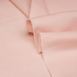 Tissu scuba effet Néoprène rose blush X 10 CM