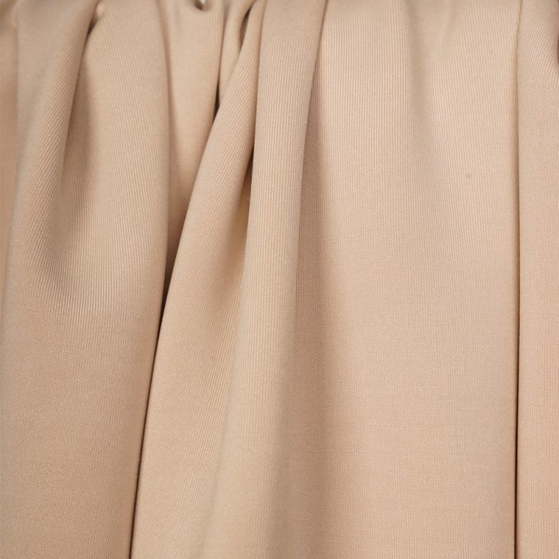 Tissu scuba effet Néoprène beige - pretty mercerie - mercerie en ligne
