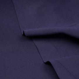 Tissu maille effet Néoprène bleu patriote X 10 CM