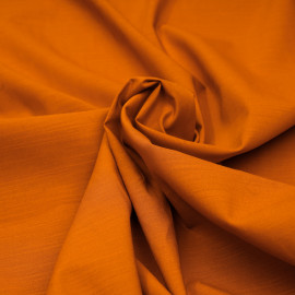 Tissu lin et coton abricot X 10 CM
