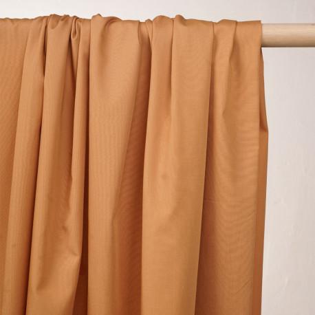 Tissu popeline de coton amande - pretty mercerie - mercerie en ligne
