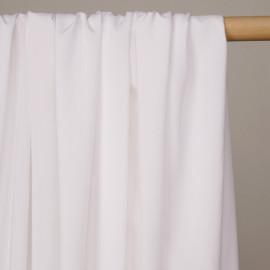 Tissu viscose blanche   - pretty mercerie - mercerie en ligne