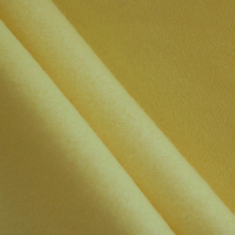 Tissu sweat beurre frais