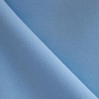 Tissu sweat bleu fumé