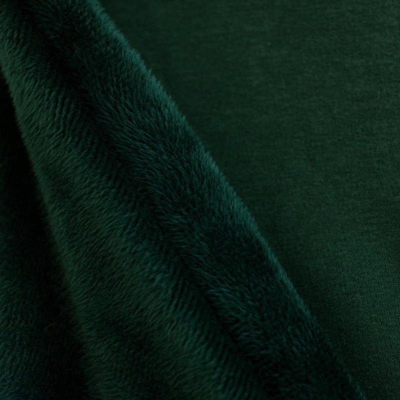Tissu sweat vert chasseur
