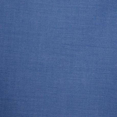 Tissu coton effet denim bleu marina- pretty mercerie - mercerie en ligne
