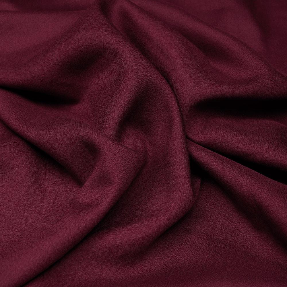 Tissu crêpe proviscose cordovan x 10 cm