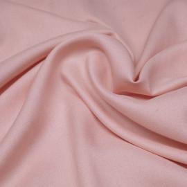 Tissu crêpe proviscose rose x 10 cm