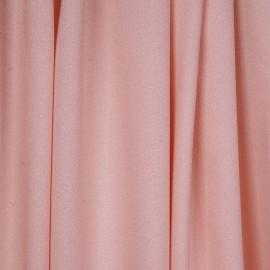 Tissu crêpe proviscose rose - pretty mercerie - mercerie en ligne
