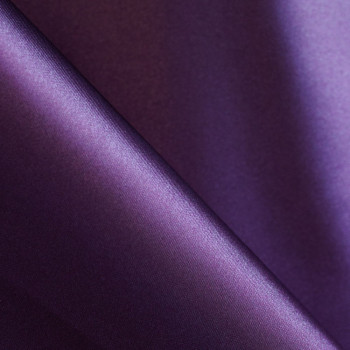 Doublure polyester aubergine x 10cm