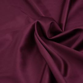 Tissu coton et lycra beaujolais x 10cm