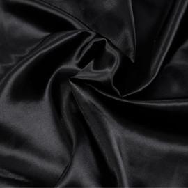 Doublure satin polyester noir x 10cm
