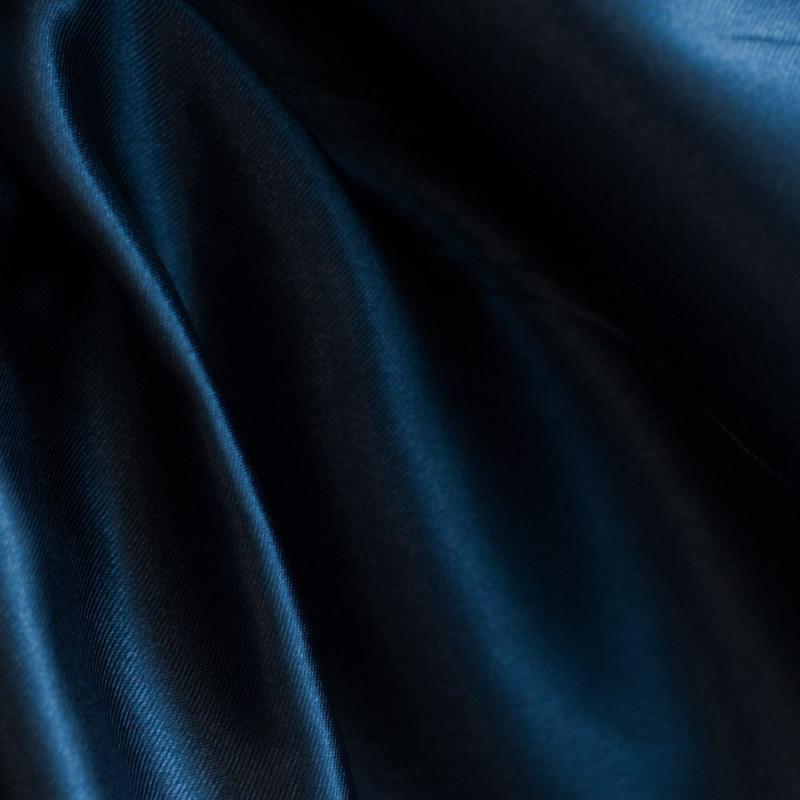 Doublure polyester bleu nuit