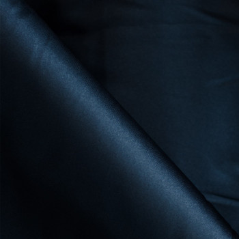 Doublure polyester bleu nuit x 10cm