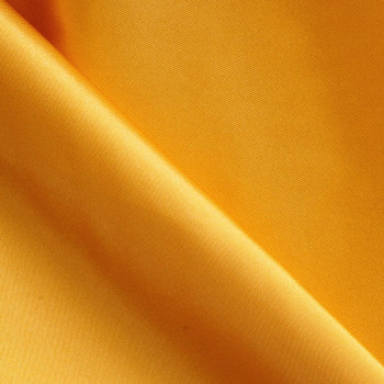 Doublure polyester ambre jaune