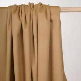 Tissu lainage camel  - pretty mercerie - mercerie en ligne