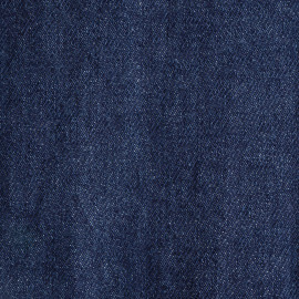 Tissu denim bio-stone washed bleu estate - pretty mercerie - mercerie en ligne