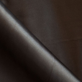 Doublure polyester marron ébène x 10cm