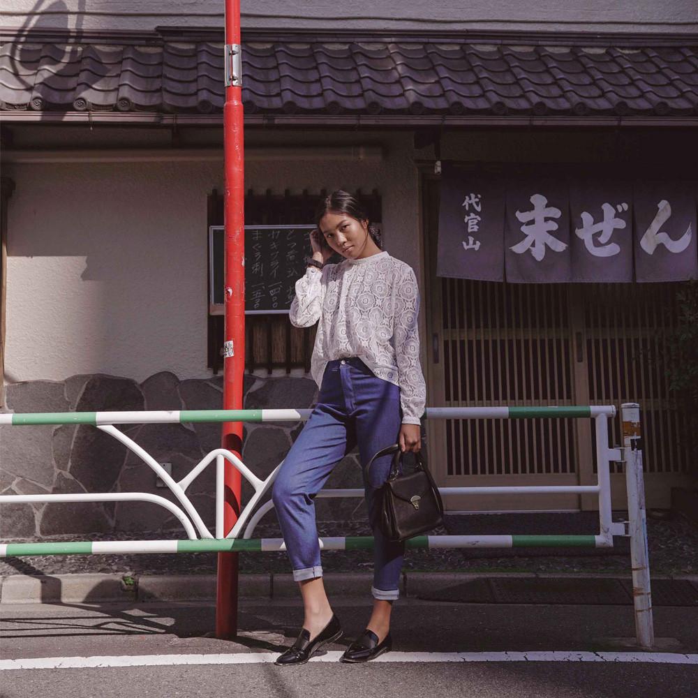 Chemisier Tottori - pretty patron - patron  de couture - pretty mercerie - mercerie en ligne