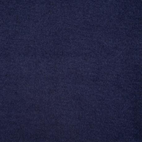 Tissu lainage bleu peacoat - pretty mercerie - mercerie en ligne