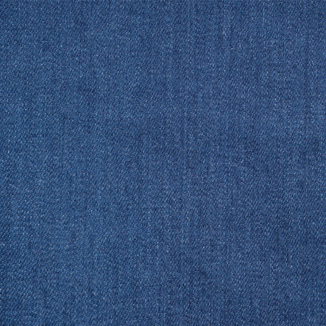 Tissu denim bio-stone washed true navy - pretty mercerie - mercerie en ligne