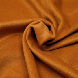 Tissu lainage fauve x 10cm