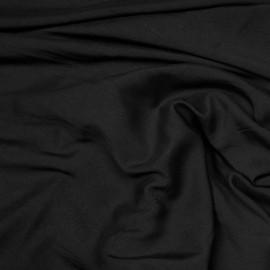Tissu viscose noir x 10 cm