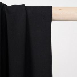Tissu viscose noir - pretty mercerie - mercerie en ligne