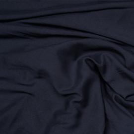Tissu viscose bleu éclipse x 10 cm