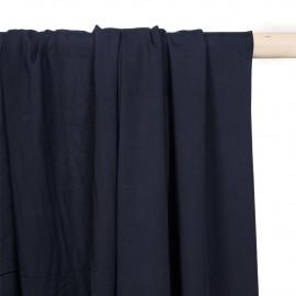 Tissu viscose bleu éclipse - pretty mercerie - mercerie en ligne