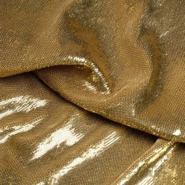 Tissu sequin doré x 10cm