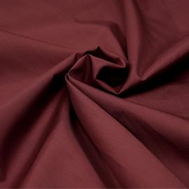 Tissu popeline de coton barn red x 10cm