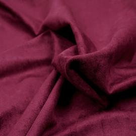 Tissu suédine beaujolais x 10 CM