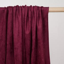Tissu suédine beaujolais  - pretty mercerie - mercerie en ligne