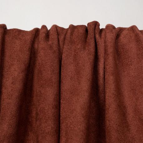 Tissu suédine chutney - pretty mercerie - mercerie en ligne
