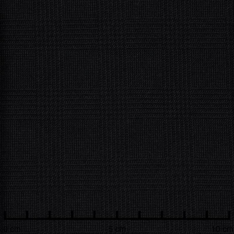 Tissu Prince de Galles gris et noir - pretty mercerie - mercerie en ligne