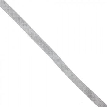 Élastique plat blanc 8 mm