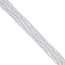 Élastique plat blanc 12 mm